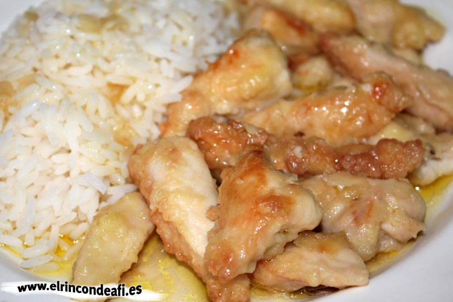 Pollo al Appletiser