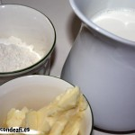 Ingredientes para la bechamel