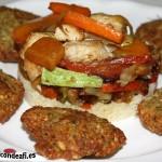 Cuscus de verduras con pollo