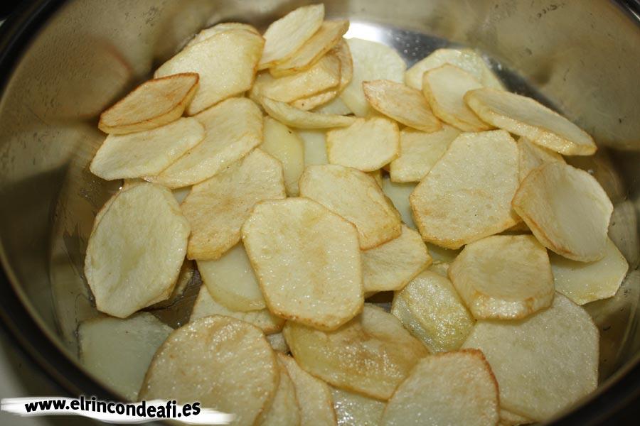 Tombet, reservar las papas fritas
