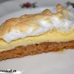 Tarta de tres colores, porción de tarta