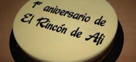 Primer aniversario de El rincón de Afi