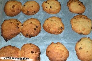 Cookies, hornear