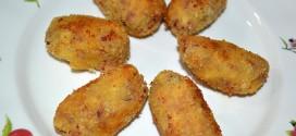 Croquetas de jamón serrano y huevos duros