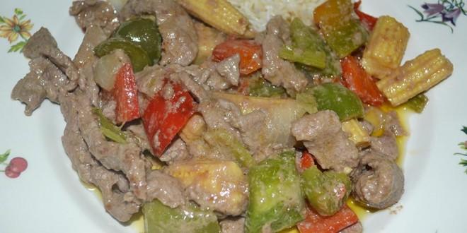 Ternera con salsa de ostras al wok el rinc n de afi for Cocinar ostras