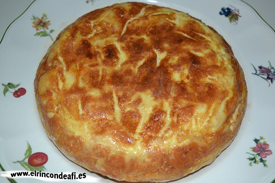 Tortilla de batata, sugerencia de presentación