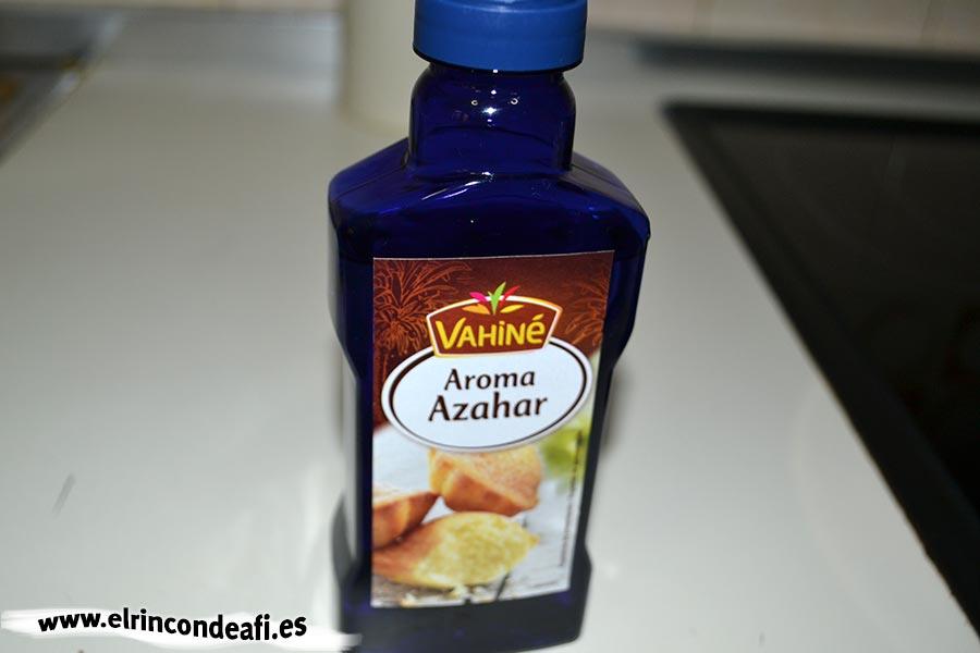 Baklava, agua de azahar