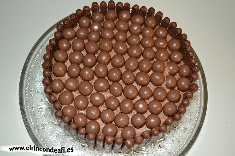 Fortaleza de chocolate, sugerencia de presentación