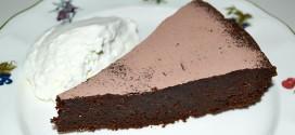 Tarta de chocolate cremosa