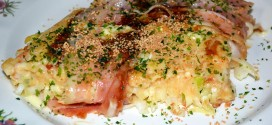 Okonomiyaki o pizza japonesa