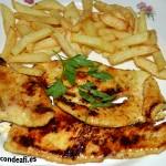 Pechuga de pollo con especias y miel