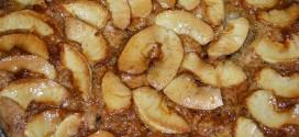 Tarta de manzana con canela