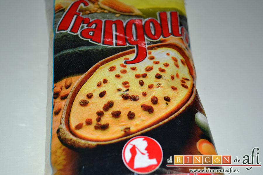 Frangollo, paquete de frangollo