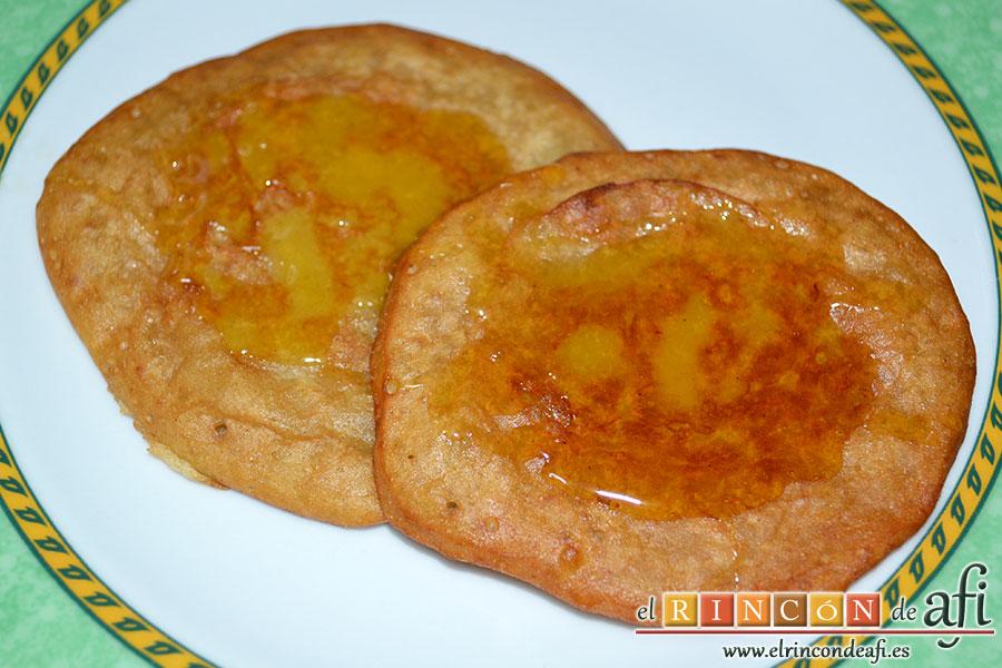 Tortitas de plátanos de Canarias