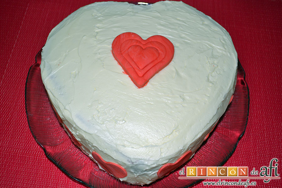 Tarta Red Velvet, decorar al gusto