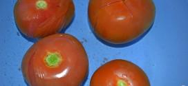 Truco, cómo pelar tomates fácilmente, meter en agua fría