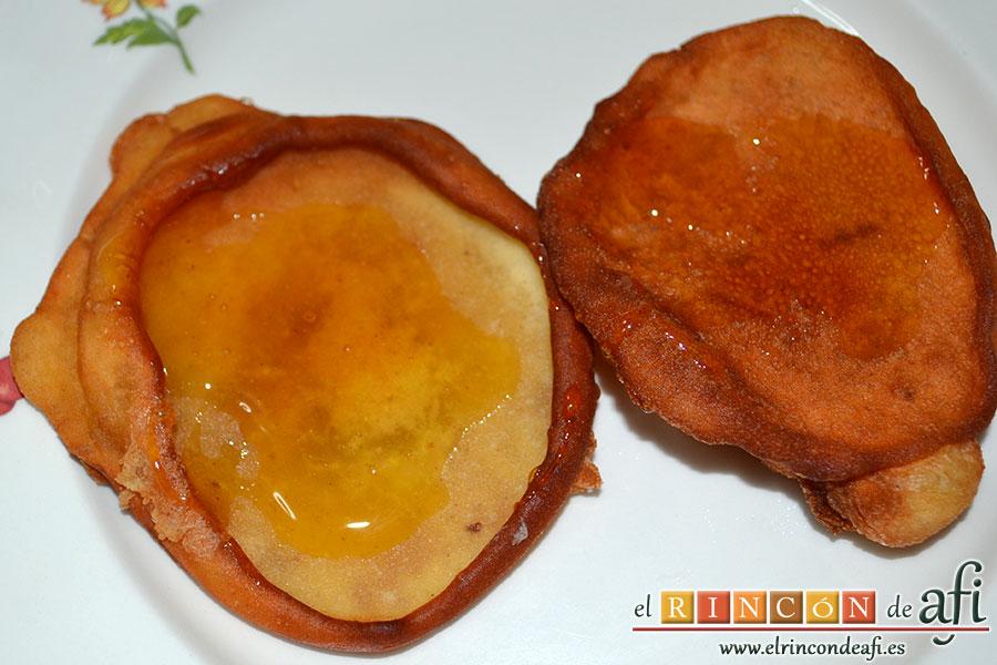 Tortitas de Carnaval de Gran Canaria, sugerencia de presentación