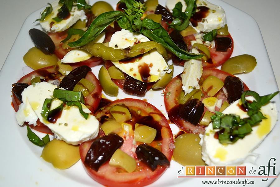 Ensalada de tomates
