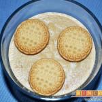 Postre casero de galletas María