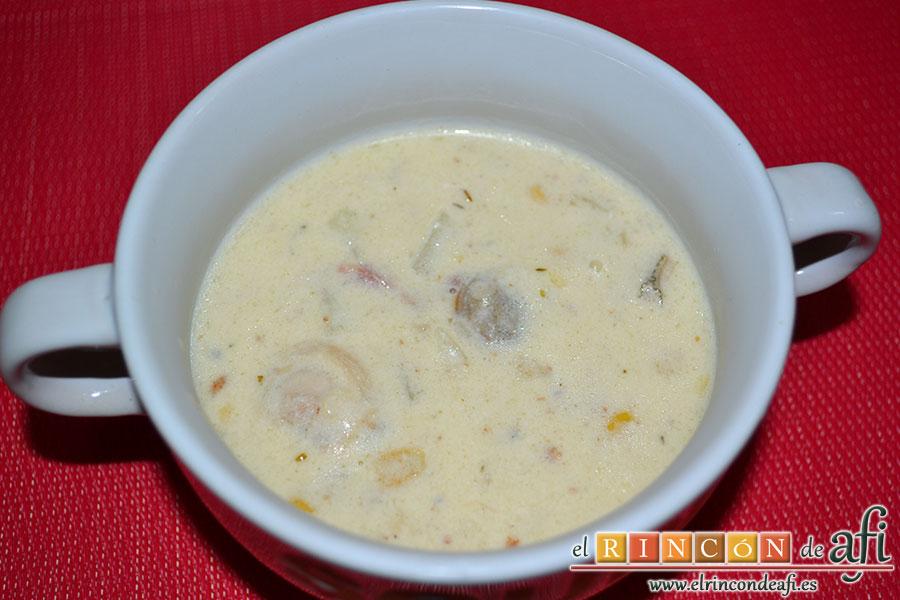 Chowder de almejas