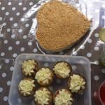 Miriam, desde Las Palmas, nos manda una foto de la tarta de donuts y unos muffins que tienen una pinta divina