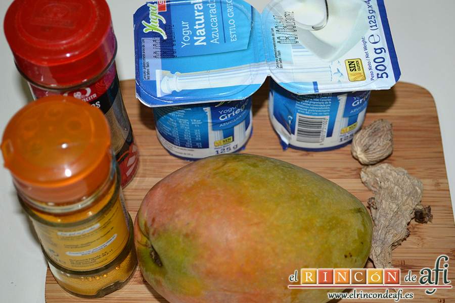 Ensalada veraniega, preparar los ingredientes