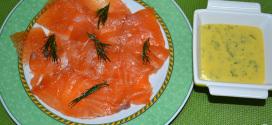 Salmón marinado con cítricos