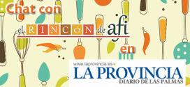 Chat con El Rincón de Afi en La Provincia
