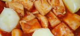 Chocos en salsa
