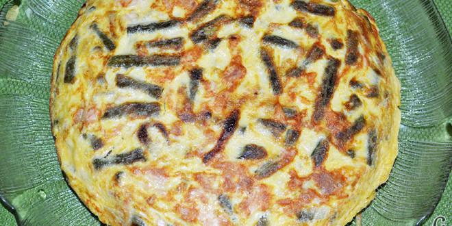Tortilla con atún