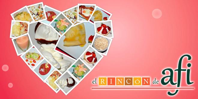 12 facilísimas recetas para hacer el mismo día de San Valentín