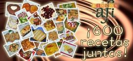 ¡600 recetas con El Rincón de Afi!