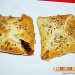 Pañuelos de hojaldre con jamón o pechuga