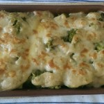 Iván Alonso prepara brócoli gratinado en lugar de coliflor