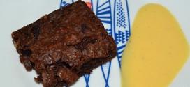 Brownie de nueces pecanas
