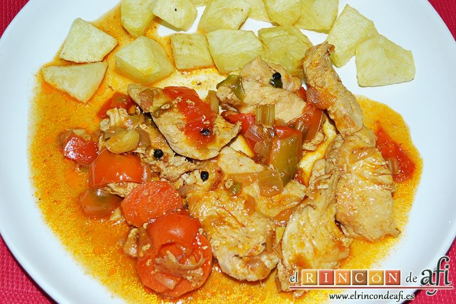 Pollo a la jardinera - Platos de pollo faciles ...