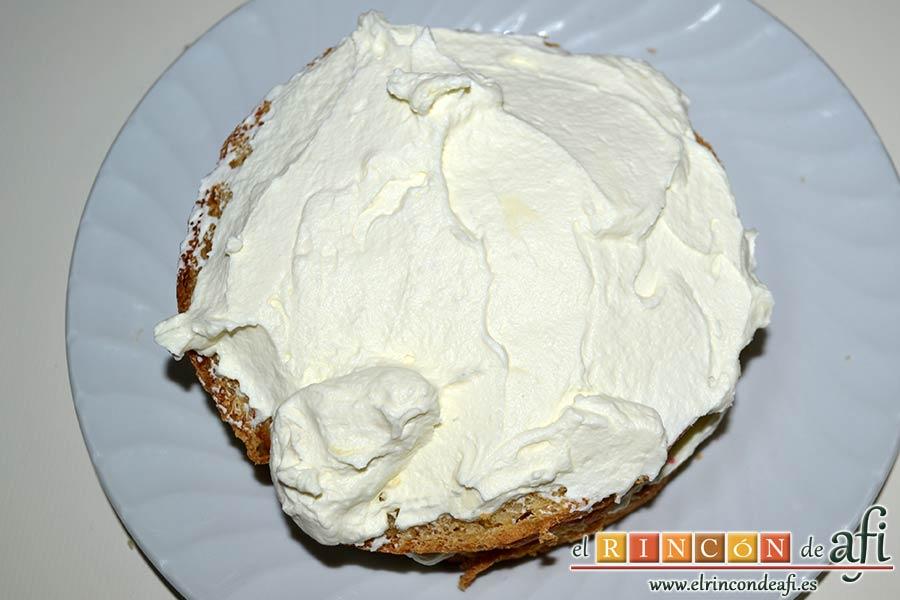 Panettone de Julius, luego con nata y mascarpone