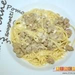 Espaguetis con carne y curry