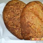 Pan de jamón, queso y cebollino del siglo XXI de Lorraine Pascale