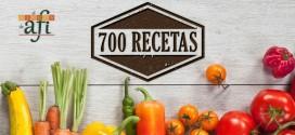 ¡700 recetas juntos en el rincón de Afi!