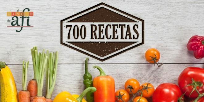 ¡700 recetas juntos!