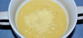 Crema de cebolla con cerveza