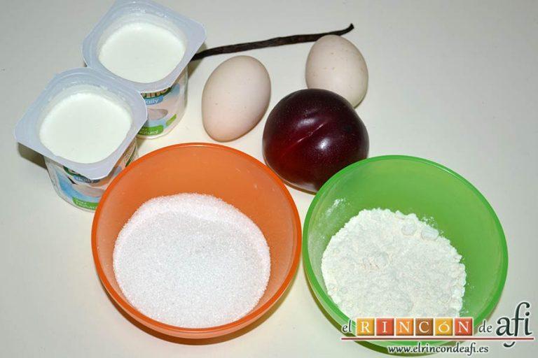 Delicias de nectarina, preparar los ingredientes
