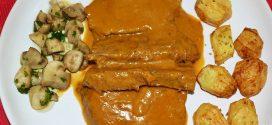 Colita de cuadril en salsa