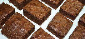 Brownie de tres ingredientes