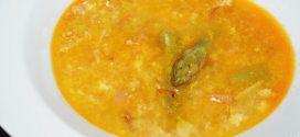 Sopa de espárragos verdes
