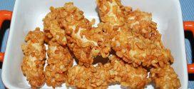 Fingers de pollo rebozados con cereales