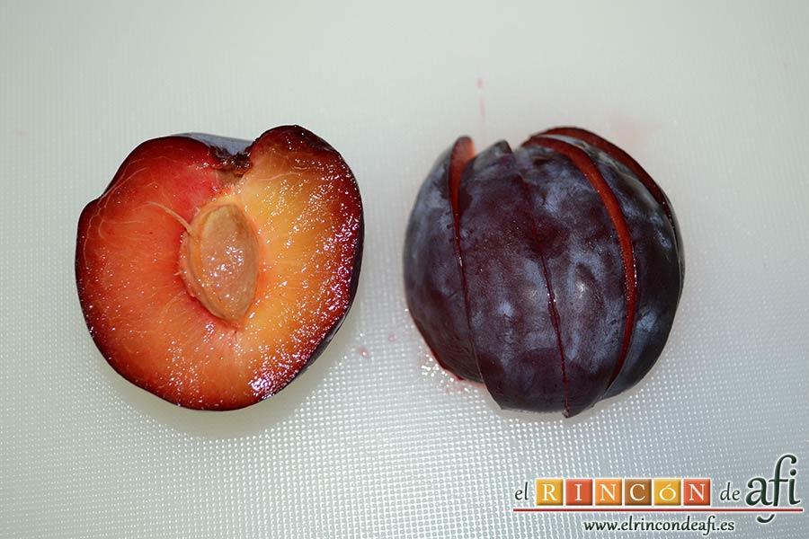Flan de mascarpone, acompañar de fruta fresca