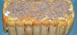 Pastel de soletillas, mascarpone y Nutella