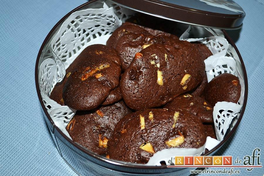Cookies de chocolate de Ferran Adriá